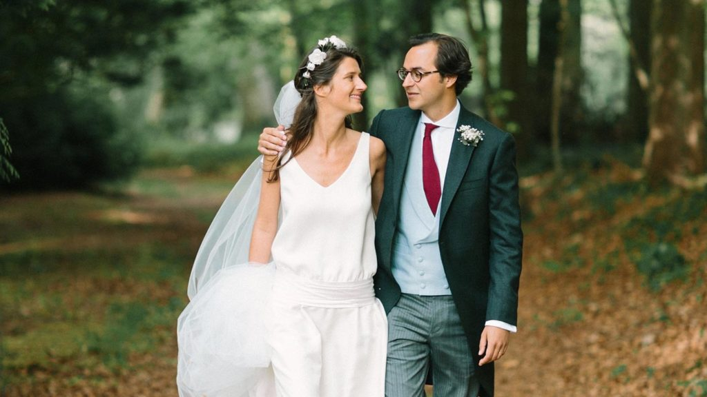 Nos mariés Pia et Charles-Henry